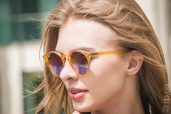 Ray-Ban Highstreet RB2180 6277/B1 на людях 3