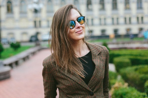 Ray-Ban Round Icons Flash Lenses RB2447 901/4O на людях 1