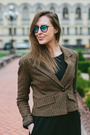 Ray-Ban Round Icons Flash Lenses RB2447 901/4O на людях 2