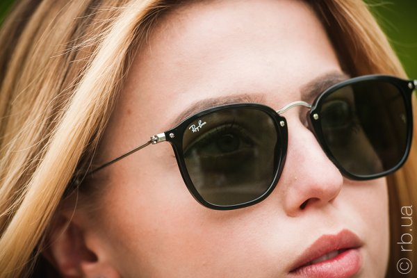 Ray-Ban Highstreet Flat Lenses RB2448N 901 на людях 4
