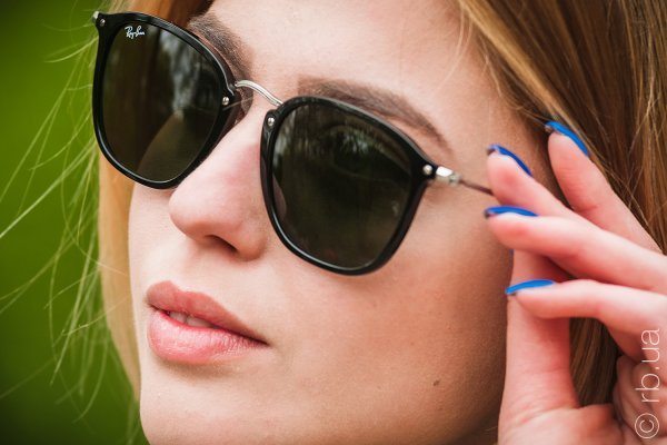 Ray-Ban Highstreet Flat Lenses RB2448N 901 на людях 6