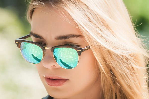 Ray-Ban Clubmaster Flash Lenses RB3016 1145/19 на людях 6