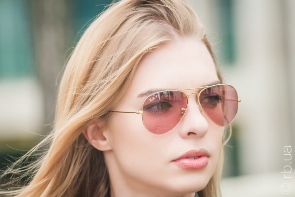 Ray-Ban Aviator Large Metal Special Series RB3025 001/15 на людях 2