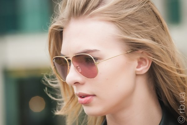 Ray-Ban Aviator Large Metal Special Series RB3025 001/15 на людях 3
