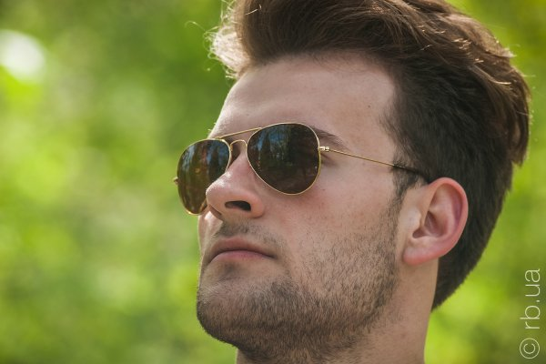 Ray-Ban Aviator Large Metal RB3025 001/33 на людях 1