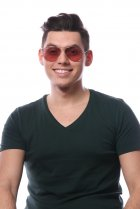 Ray-Ban Aviator Large Metal RB3025 001/4B на людях 6
