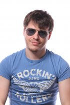 Ray-Ban Aviator Large Metal RB3025 001/62 на людях 2