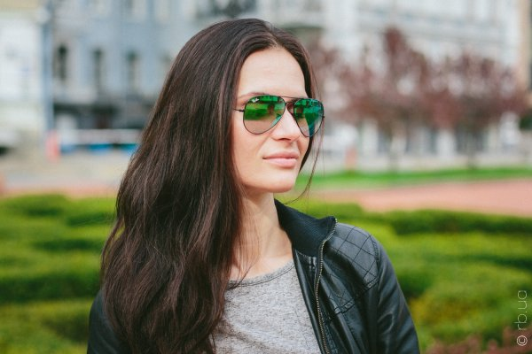 Ray-Ban Aviator Flash Lenses RB3025 002/4J на людях 1