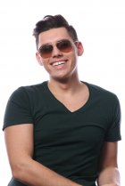 Ray-Ban Aviator Large Metal RB3025 003/3E на людях 9