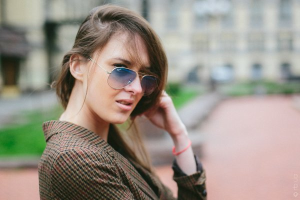 Ray-Ban Aviator Large Metal RB3025 003/3F на людях 6