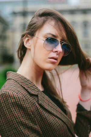 Ray-Ban Aviator Large Metal RB3025 003/3F на людях 1