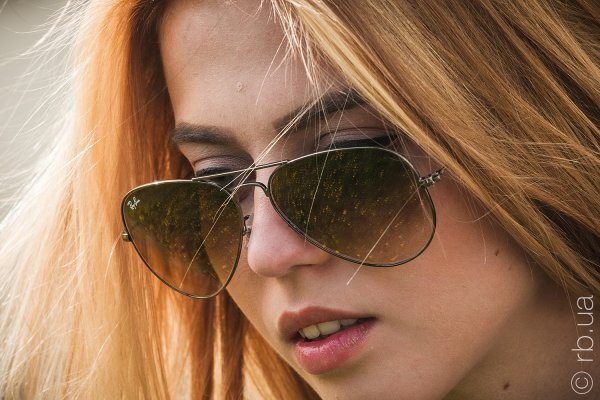 Ray-Ban Aviator Large Metal RB3025 004/51 на людях 8