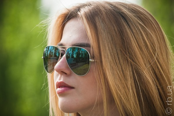 Ray-Ban Aviator Flash Lenses RB3025 019/9J на людях 6