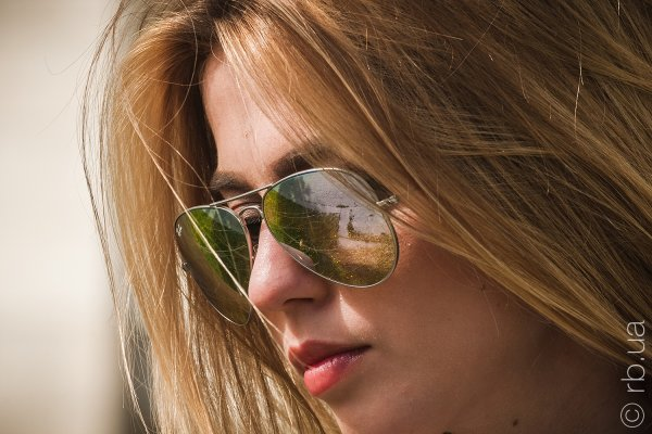 Ray-Ban Aviator Flash Lenses RB3025 019/9J на людях 8