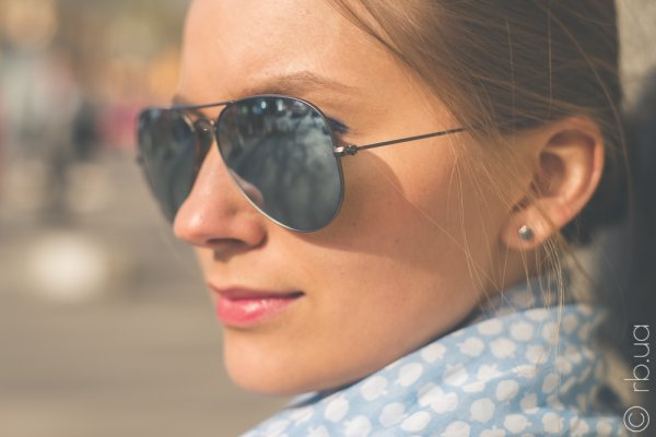 Ray-Ban Aviator Flash Lenses RB3025 029/30 на людях 2