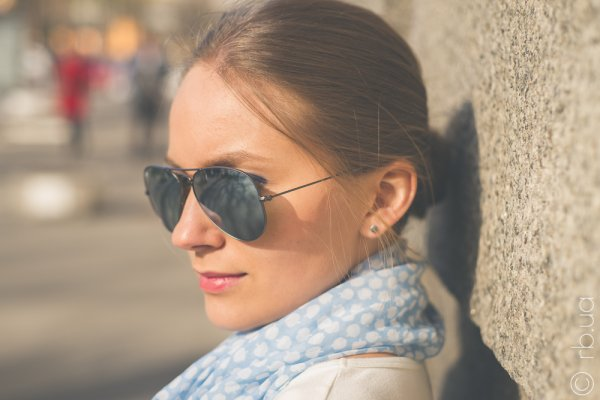 Ray-Ban Aviator Flash Lenses RB3025 029/30 на людях 6