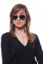 Ray-Ban Aviator Large Metal RB3025 029/71 на людях 13