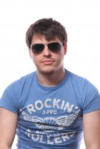 Ray-Ban Aviator Large Metal RB3025 029/71 на людях 4