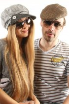 Ray-Ban Aviator Large Metal RB3025 072/32 на людях 4