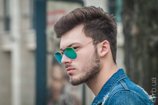 Ray-Ban Aviator Flash Lenses RB3025 112/19 на людях 11
