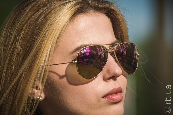 Ray-Ban Aviator Flash Lenses RB3025 112/1Q на людях 3