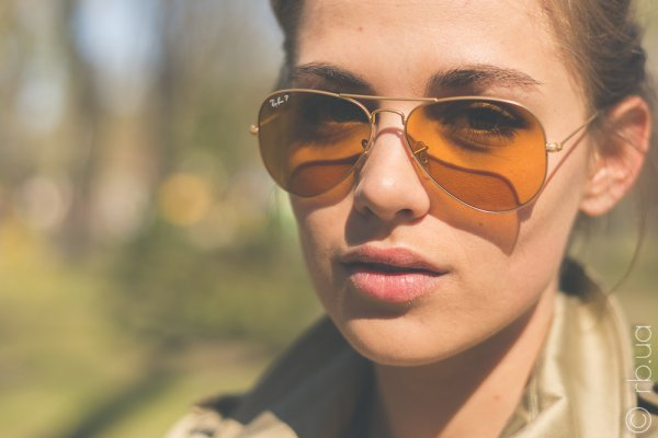 Ray-Ban Aviator Large Metal Special Series RB3025 112/O6 на людях 2