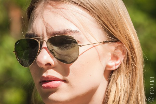 Ray-Ban Aviator Large Metal RB3025 181 на людях 4