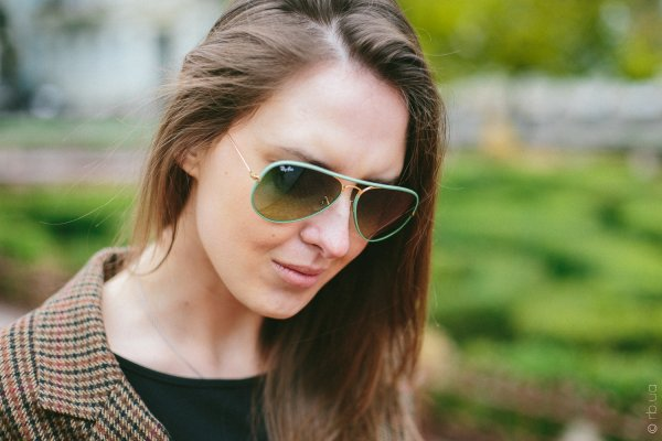 Ray-Ban Aviator Full Color RB3025JM 001/3M на людях 10