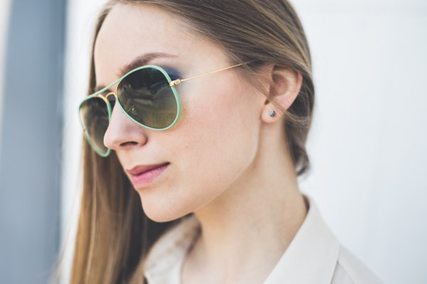 Ray-Ban Aviator Full Color RB3025JM 001/3M на людях 7