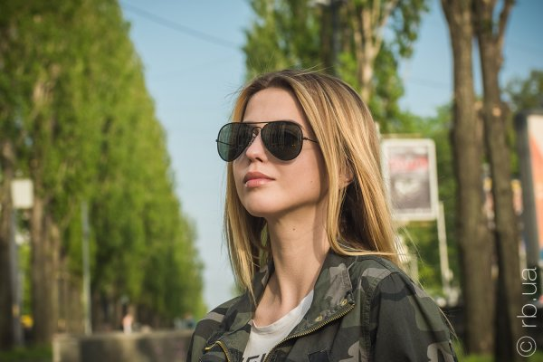 Ray-Ban Aviator Full Color RB3025JM 002 на людях 2