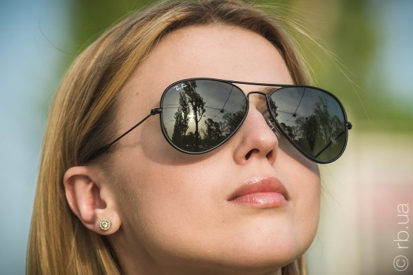 Ray-Ban Aviator Full Color RB3025JM 002 на людях 3
