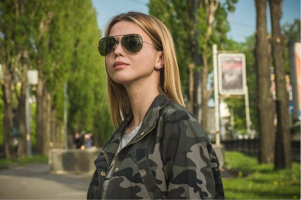 Ray-Ban Aviator Large Metal Camouflage RB3025JM 168/4E на людях 2