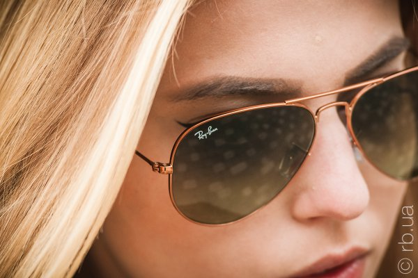 Ray-Ban Aviator Large Metal II RB3026 197/71 на людях 1