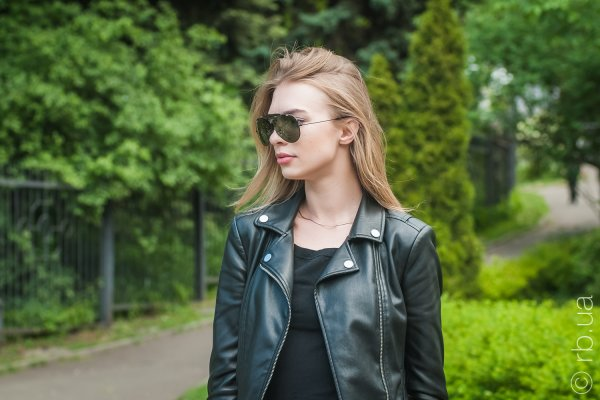 Ray-Ban Shooter RB3138 002 на людях 4