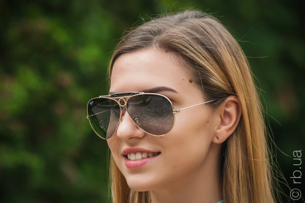 Ray-Ban Shooter RB3138 181/71 на людях 2