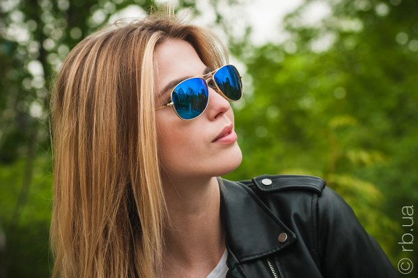 Ray-Ban Cockpit Flash Lenses RB3362 112/17 на людях 2