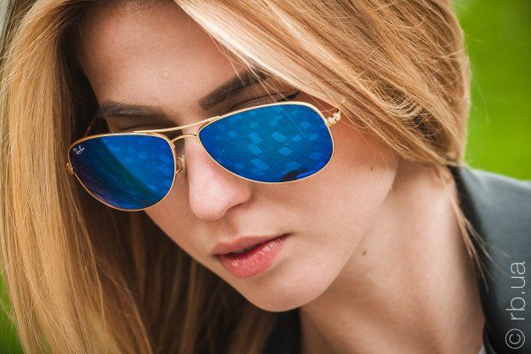 Ray-Ban Cockpit Flash Lenses RB3362 112/17 на людях 3