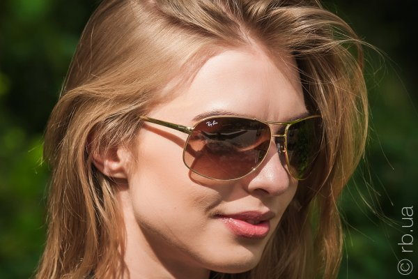 Ray-Ban Highstreet RB3387 001/13 на людях 5