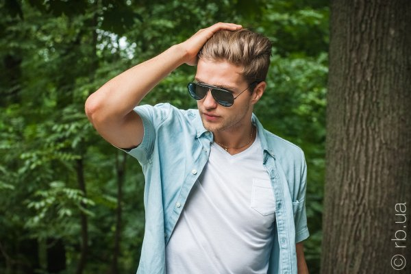 Ray-Ban Craft Outdoorsman RB3422Q 9040 на людях 1