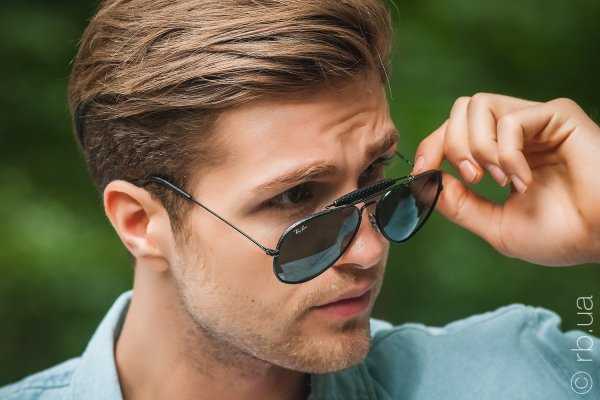 Ray-Ban Craft Outdoorsman RB3422Q 9040 на людях 3