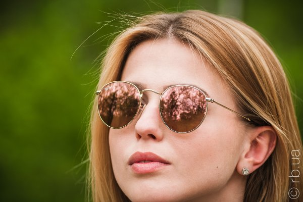 Ray-Ban Round Metal Flat Lenses RB3447N 001/Z2 на людях 4