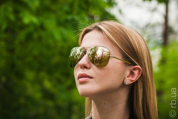 Ray-Ban Highstreet RB3449 001/2Y на людях 7