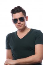 Ray-Ban Highstreet RB3449 002/55 на людях 5