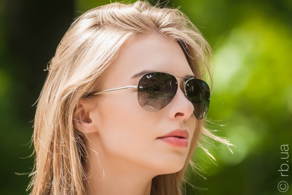 Ray-Ban Highstreet RB3449 003/8G на людях 7