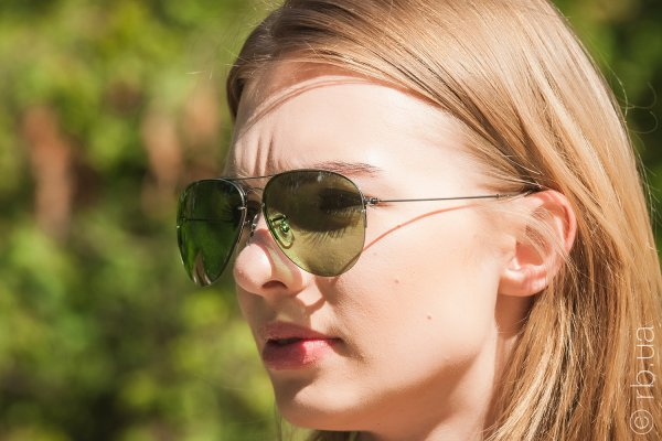 Ray-Ban Aviator Flip Out RB3460 004/2 на людях 6