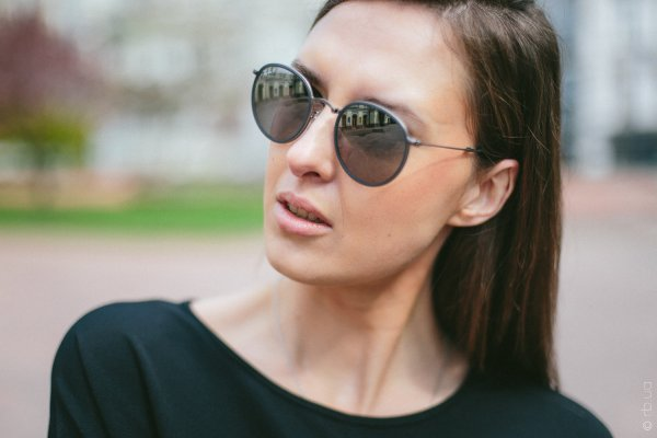 Ray-Ban Round Folding I RB3517 029/N8 на людях 1
