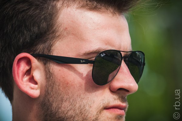 Ray-Ban Active Lifestyle Aviator RB3523 006/6G на людях 3