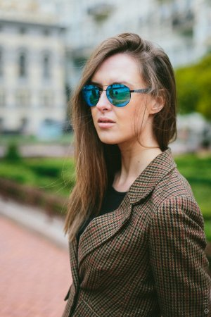 Ray-Ban Active Lifestyle Round RB3536 006/55 на людях 3