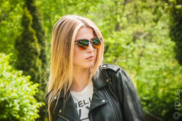 Ray-Ban Clubmaster Metal RB3538 9006/A8 на людях 2