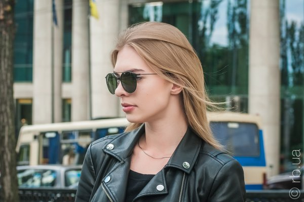 Ray-Ban Highstreet RB3546 186 на людях 4